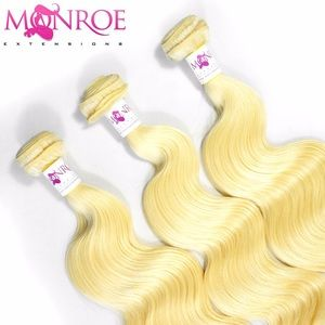 Platinum Blonde #613 Frontal+Bundles Deal